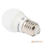 Лампа світлодіодна ЕВРОСВЕТ 5 Вт 3000 К Р-5-3000-27 E27