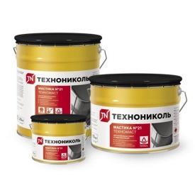Мастика покрівельна Техномаст Техноніколь № 21 відро 3 кг