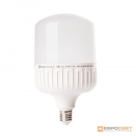 Лампа світлодіодна ЕВРОСВЕТ 40 Вт 6400 К EVRO-PL-40-6400-40 Е40