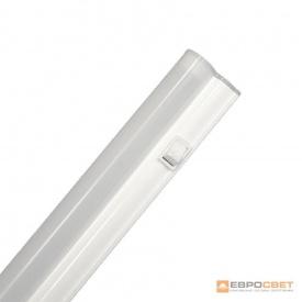 Светильник светодиодный интегрированный ЕВРОСВЕТ 9 Вт 6400 K EV-IT-600-6400 Т5 720 Лм с выключателем