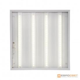 Світлодіодна панель ЕВРОСВЕТ 36 Вт PRISMATIC 4000 K 3000 Лм promo pack