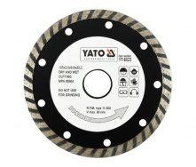 Круг відрізний алмазний YATO TURBO 125x8,0x22,2 мм 2,6 мм