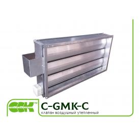Клапан воздушный утепленный C-GMK-C-70-40