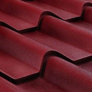 Металлочерепица Ретро Voestalpine РЕМА 0,5 мм красная