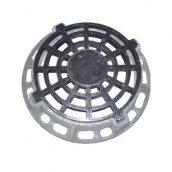 Дощоприймач чавунний круглий ДК-1 15 т з замком (4.05.2) (IMPA394)