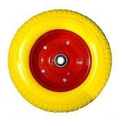 Колесо на тачку 3.50-7 піна на вісь 20 мм