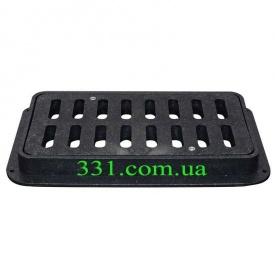 Дощоприймач пластмасовий ДБ-2/1 ХП з замком (4.12) (IMPA400)