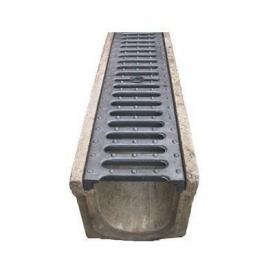 Зливоприймальна решітка 126х485х20 мм (9.04.1)
