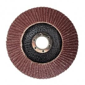 Диск шлифовальный лепестковый зерно 40 H-TOOLS 62К204 125x22 мм