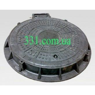Люк легкий канализационный полимерпесчаный ЛМ (А15)-В.1-64 (14.21)