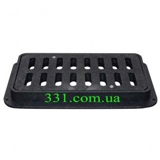 Дождеприемник пластмассовый ДБ-2/1 ХП с замком (4.12) (IMPA400)