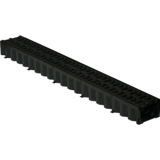 Решетка дорожная пластмассовая ХП 665х340x80 мм (р603) (IMPA406)