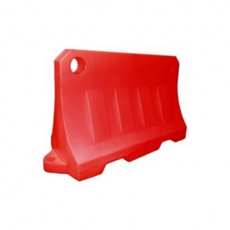 Блок дорожный Импекс-Груп водоналивной 480х800х1200 мм красный