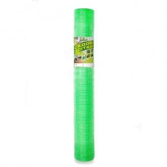 Пластиковая сетка для птиц Клевер 12х14 мм 2х100 м зеленая