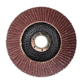 Диск шліфувальний пелюстковий зерно 40 H-TOOLS 62К204 125x22 мм
