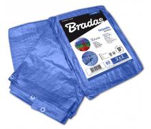 Тарпаулиновый тент на природу Bradas BLUE 60 г/м2 15х20 м голубой (PL15/20)