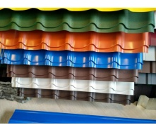 Металлочерепица US Steel Kosice 1118/1110 мм 0,5 мм PE глянец (Словакия)