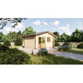 Строительство дома садового 5х5 м из бруса