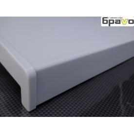 Подоконник пластиковый Opentech матовый 200 мм белый