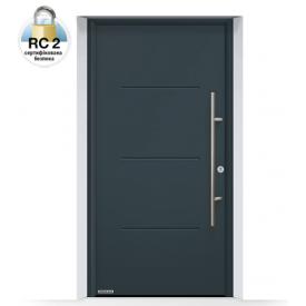 Дверь входная Hormann Thermo 65 515 RAL 7016 серый антрацит
