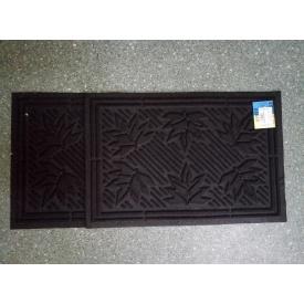 Килимок гумовий коридорний з ворсовим покриттям 40x60 см