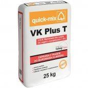 Смесь Quick-Mix VK Plus T 25 кг для кладки и одновременной расшивки швов кирпича стальная