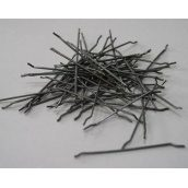 Фибра стальная с анкерами для армирования бетона 0,75х52