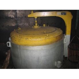 Печь для отжига проволоки шахтная СШ3-6,6/7М2