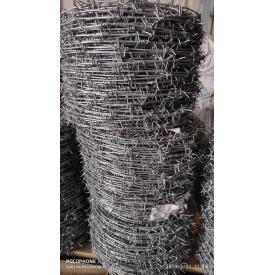 Проволока колючая оцинкованная одноосновная ГОСТ285-69 2,8 мм