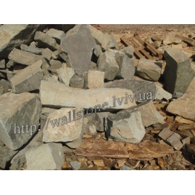 Камінь бутовий Сколывський навалом