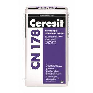 Легковыравнивающаяся стяжка Ceresit CN 178 25 кг