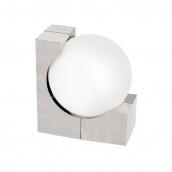 Светильник садово-парковый EGLO Охио 60 Вт E 27 серебристый белый (89314)