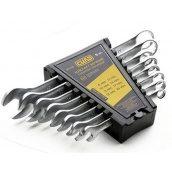 Набір ключів рожково-накидних СИЛА 201137 CrV 8-17 мм 6 шт