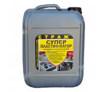Пластифікатор СТРАЖ-29 для бетонних і цементних розчинів 10л