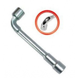 Ключ торцевий INTERTOOL НТ-1613 з отвором L-подібний 13 мм