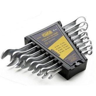 Набор ключей рожково-накидных СИЛА 201137 CrV 8-17 мм 6 шт