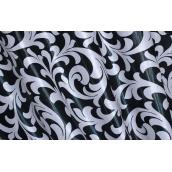 Штори блекаут двосторонній VR-Textil 100 × 270 см чорний з білим (2034)