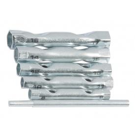 Набор ключей торцевых трубчатых 8-17мм 6шт