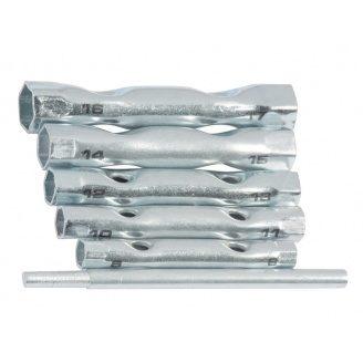 Набір торцевих ключів трубчастих 8-17мм 6шт