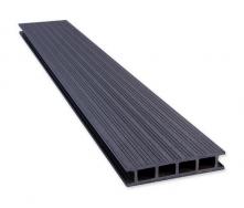 Террасная доска PERWOOD Home 2019 28х147х4000 мм серый камень