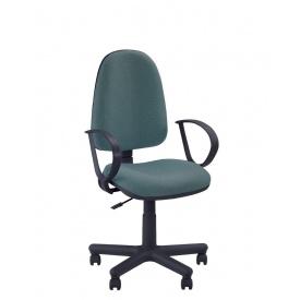 Кресло для персонала Новый Стиль Jupiter GTP ткань Cagliari black с подлокотниками