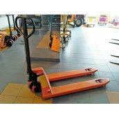 Гідравлічна візок Niuli CBY-DF 2,5 поліуретанова 2500 кг