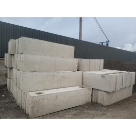 Фундаментні блоки з доставкою 2,4x0,6x0,4