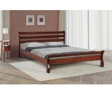 Двоспальне ліжко Шарм Елегант Мікс-меблі 1600х2000 мм дерев`яна