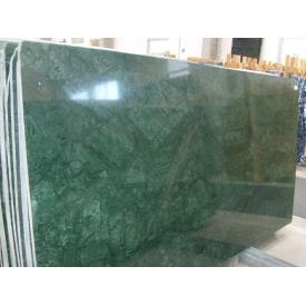 Мрамор Verde GUATEMALA 2 см темно-болотный