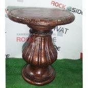 Стіл Rock Side Чайний 60х60х63 см під бронзу