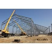 Будівництво будівлі з металоконструкцій