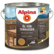 Эмульсия натуральной олифы Alpina Oel Terrassen Hell 2,5 л