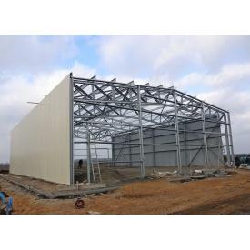 Каркасное строительство спортзалов