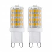 Лампа світлодіодна EGLO 3Вт G9 3000K 360Лм 2шт (11674)